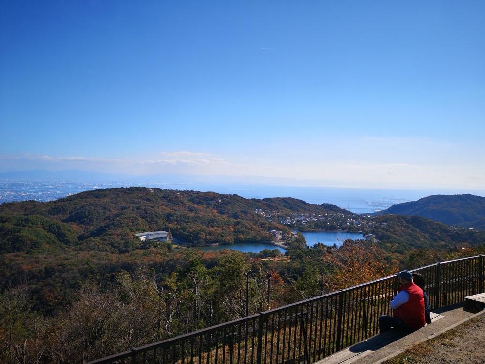 東六甲展望台からの眺め