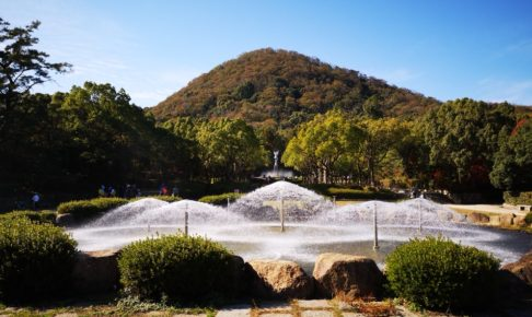 甲山森林公園の噴水