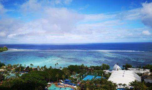 グアムのホテルPICからの眺め