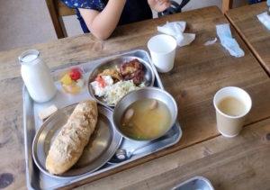篠山チルドレンズミュージアムの給食