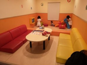 Karaoke room with kids space