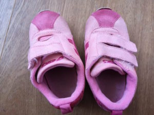 shoes after washing