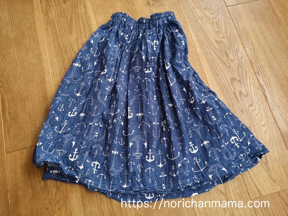 Handmade matching outfits